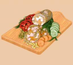 Зельц овощной ТМ «Малика»