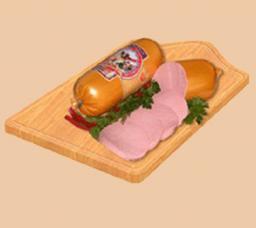 Колбаса вареная молочная ТМ «Малика»