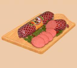 Колбаса полукопченая с сыром ТМ «Малика»