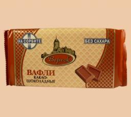 Вафли «Невские» на сорбите Какао-шоколадные (в ассортименте)