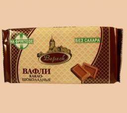 Вафли «Невские» на фруктозе Какао-шоколадные (в ассортименте)