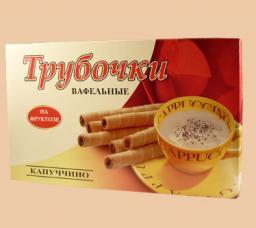 Вафельные трубочки «Капуччино» на фруктозе (в ассортименте)