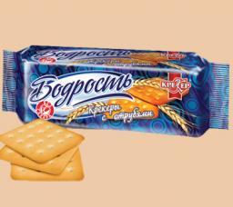 Крекер «Бодрость» (с отрубями, без сахара) в ассортименте