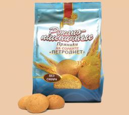 Пряники «Петродиет» на сорбите «Ржано-пшеничные»