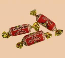 Конфеты «Батончики» без сахара на сорбите