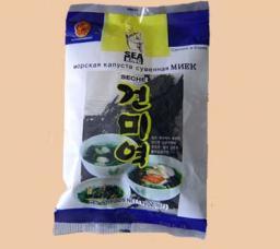 Морская капуста сушеная МИЕК (водоросли)