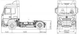 Электрическая схема маз 6501.