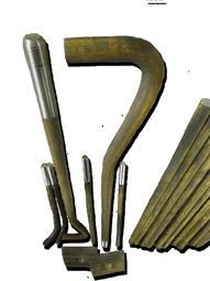 Болт фундаментный ГОСТ 24379,1-80 тип 1.2. М48х900