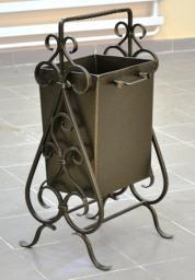 Урны для мусора металлические кованые