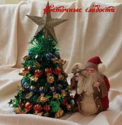 Елочка с Дед Морозом