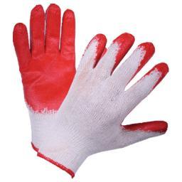 Рабочие перчатки хб с латексным покрытием (Эконом)