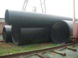 Трубы полиэтиленовые канализационные