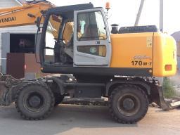 Экскаватор R170W-7, год выпуска 2011г.в.