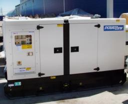 Дизель генератор Powerlink GMS 100CS в шумозащитном кожухе