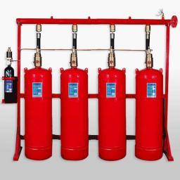 Заправка систем пожаротушения