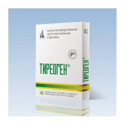 ТИРЕОГЕН 60 капс. (пептиды щитовидной железы)