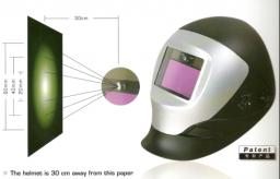 маска сварщика с автоматическим затемнением(LED)HD-1060L