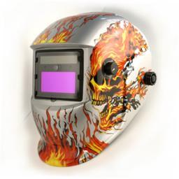 маска сварщика с автоматическим затемнением(LED)HE-1111L-sf