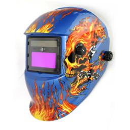 маска сварщика с автоматическим затемнением(LED)HE-1111L-bf