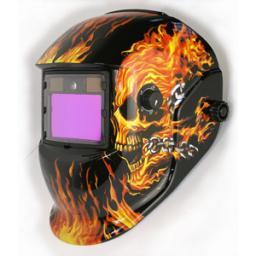 маска сварщика с автоматическим затемнением(LED)HE-1060L-bf