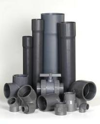 Труба ПВХ клеевое соединение для бассейнов.