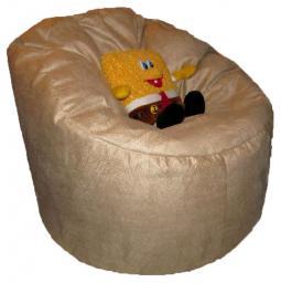 Кресло трон, ткань микрофибра, размер 100см