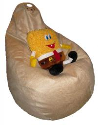 Кресло груша, микрофибра, 120х90см
