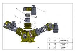 Кольца поршневые 160мм ( комплект) к компрессору Bekomsan Esinti 72