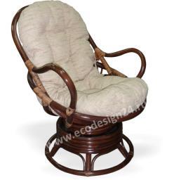Кресло из ротанга механическое