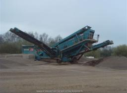 Грохот Powerscreen Chieftain 2100X track (3 Deck) Б/У год выпуска 2007