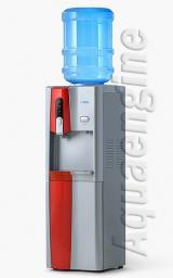 Кулер для воды с холодильником «AEL» 150B red