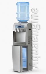 Кулер для воды с холодильником «AEL»31 S-В VFD silver