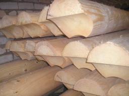 Оцилиндрованное бревно (болванка) кедр, лиственница Д 180 мм. – от 9500 руб./куб.м.