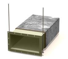 Изоляция воздуховодов материалом
