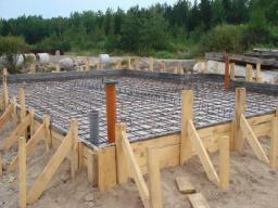 Строительство монолитных фундаментов