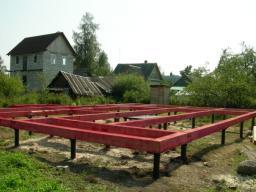 Строительство свайных фундаментов