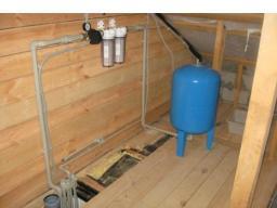 Водопровод загородного дома