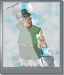 Мытье окон. Мытье фасадов зданий