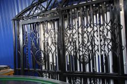 Ворота и калитки для заборов из профлиста