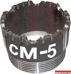 Коронка твердосплавная СМ-5 всех диаметров