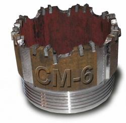 Коронка твердосплавная СМ-4 всех диаметров