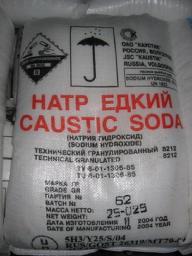 Натр едкий (Сода каустическая, Гидроксид натрия) технический (чешуя)