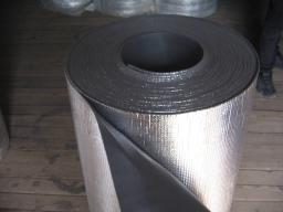 Изолон фольгированный, метализированный на липкой основе