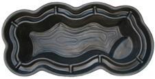 Декоративный садовый пруд 1100 черный (Вулкан)