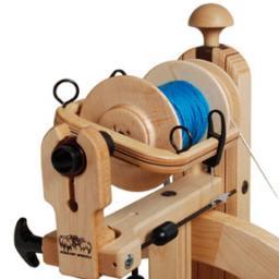 Прядение шерсти. Ручная технология прядения собачьей шерсти.