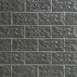Крупноформатная фасадная плитка Stroeher Kerabig KS05 anthrazit