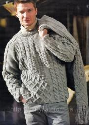 Вязание спицами. Пряжа «Темная Ночь» для вязания.