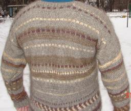 Пряжа для вязания настоящих свитеров, кардиганов, пулловеров.