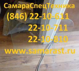 Стекло кабины крановщика заднее 1065.63.00.00.01-1 (485х555)