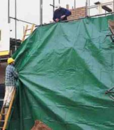 Строительные промышленные тенты укрывные полога для стройки